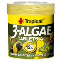 Tropical 3-Algae Tablets A 50ml 36g
