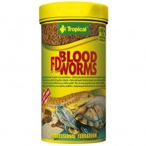TROPICAL Blood Worms 100ml Pokarm dla gadów i płazów 11143