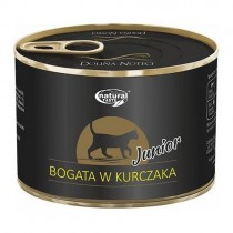 NATURAL TASTE CAT Junior bogata w kurczaka 185g