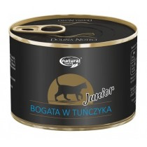 Natural Taste Cat Junior Bogata w Tuńczyka 185g