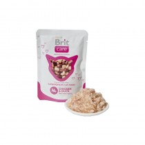 BRIT CARE CAT CHICKEN&DUCK 80G SASZETKA