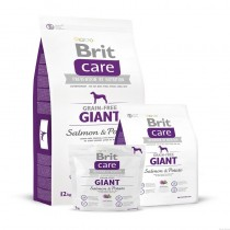 BRIT CARE GRAIN-FREE GIANT SALMON&POTATO 3KG 132731