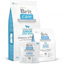 BRIT CARE GRAIN-FREE JUNIOR LARGE BREED SALMON&POTATO 12KG 132721