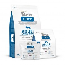 BRIT CARE ADULT LARGE BREED LAMB&RICE 1KG 132714