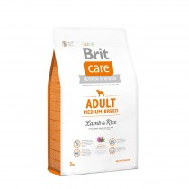 Brit Care Adult Medium Breed Lamb&Rice 3kg 132710