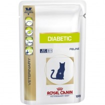 Royal Canin Cat Vet Diet Diabetic 12x100g Saszetka