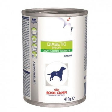Royal Canin Dog Vet Diet Diabetic Special Low Carbohydrate 400g Puszka