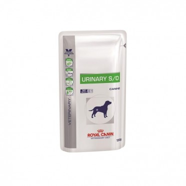 Royal Canin Dog Vet Diet Urinary S/O 10x150g *SASZETKA