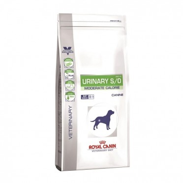 Royal Canin Dog Vet Diet Urinary S/O Moderate Calorie UMC 20