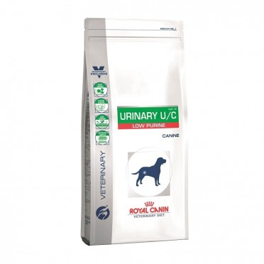 Royal Canin Dog Vet Diet Urinary U/C Low Purine 2kg UUC 18