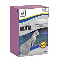 Bozita Cat Hair&Skin 190g Karton