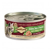 Carnilove Cat Chicken Duck&Pheasant Puszka 100g