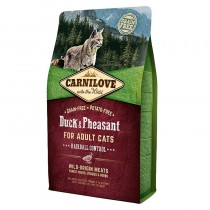 Carnilove Cat Duck&Pheasant Hairball Control