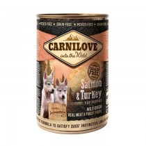 Carnilove Wild Meat Salmon&Turkey Puppies 400g